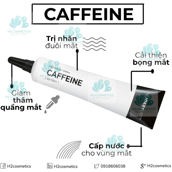 Kem mắt The INKEY List Caffeine Eye Cream