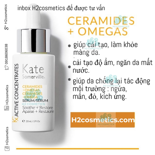 Kate Somerville KX Active Concentrates Omegas + Ceramides Barriers Defense