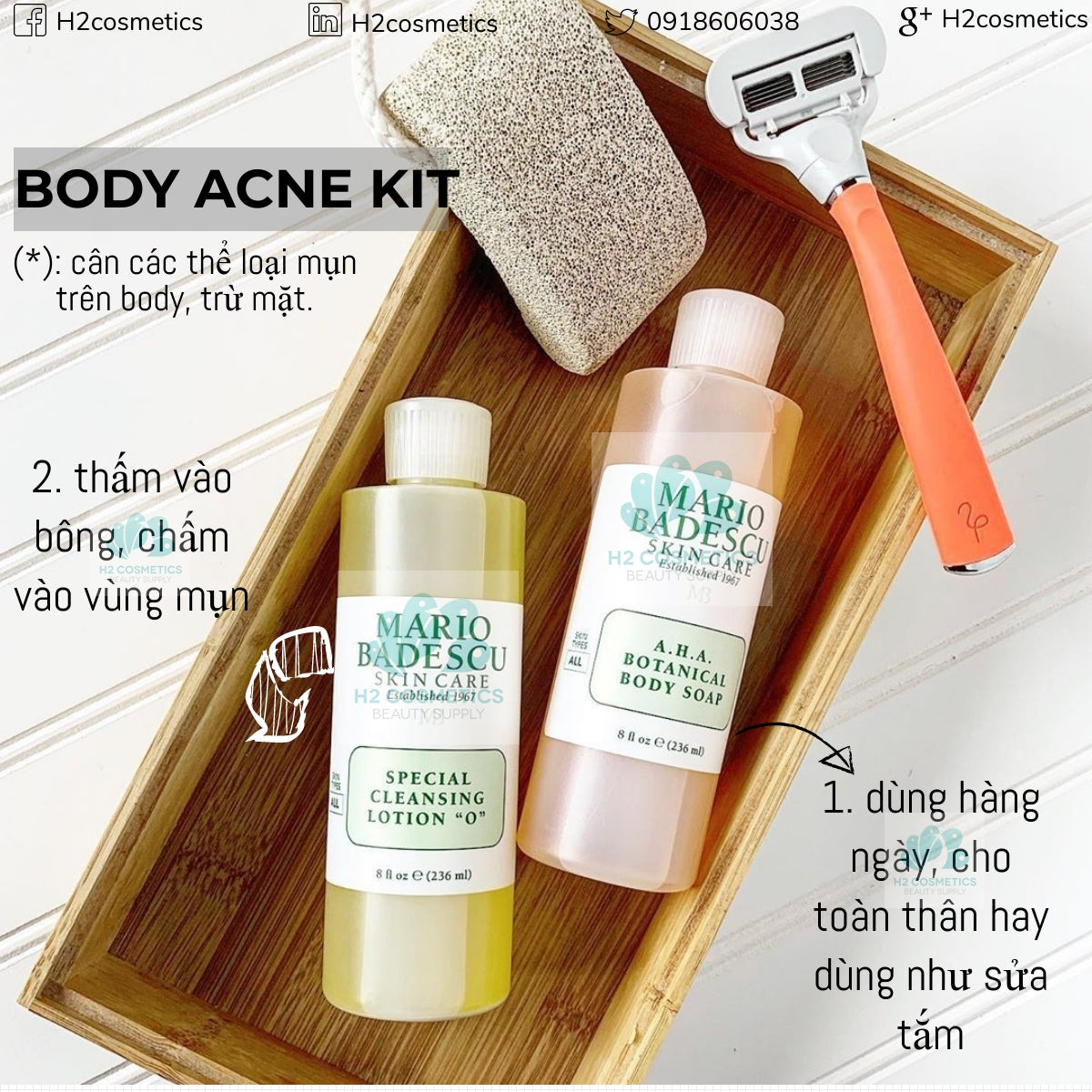 Mario Badescu - Body Acne Kit