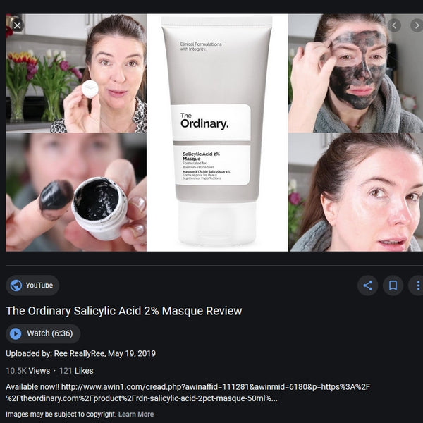Mặt nạ The Ordinary Salicylic acid 2% Masque