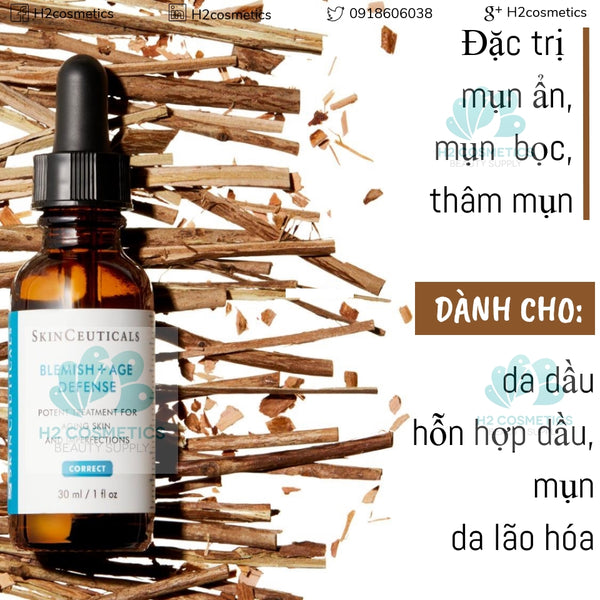 Serum trị mụn SkinCeuticals Blemish and Age defense