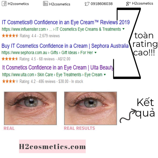 Kem mắt Confidence in an eye cream