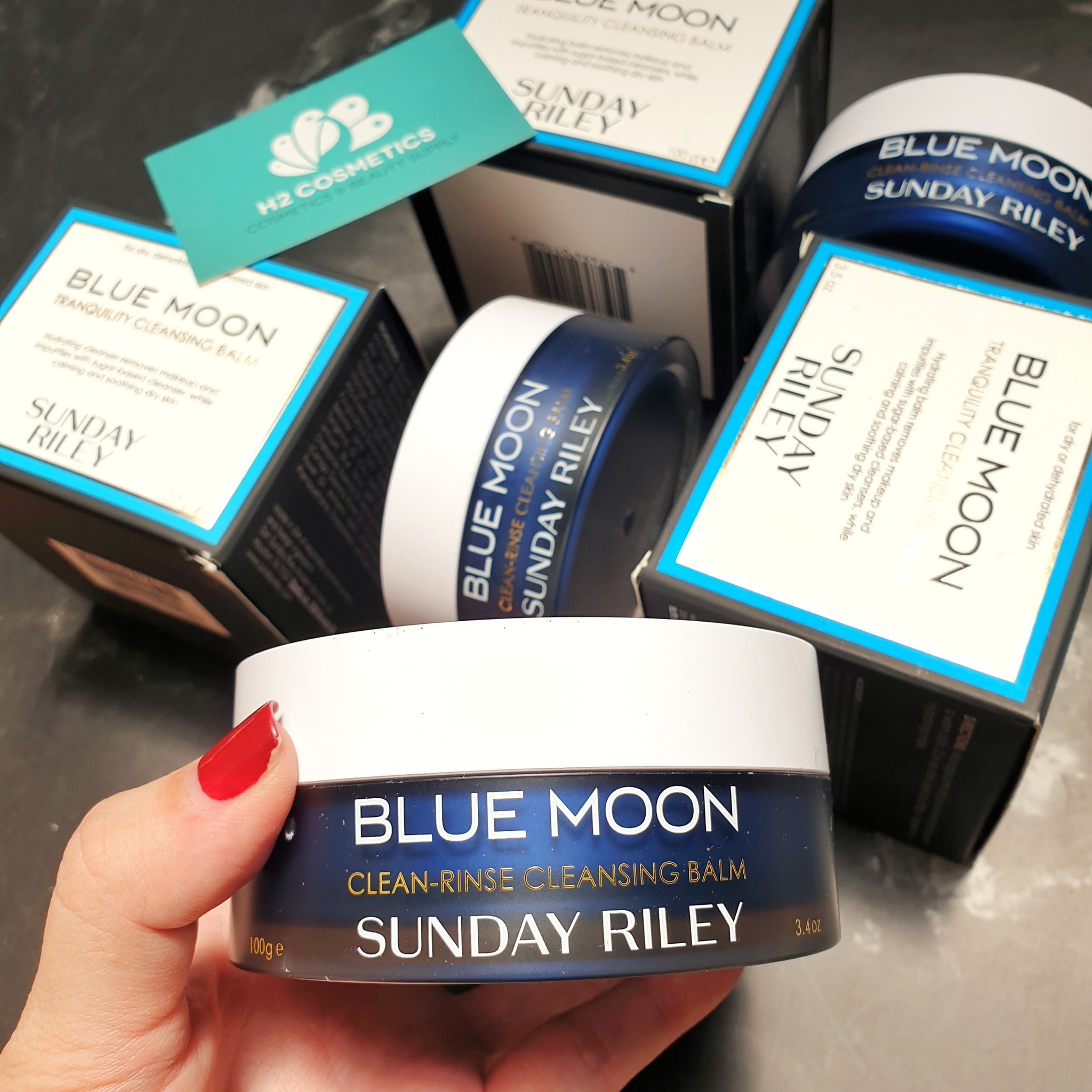 Tẩy trang Sunday Riley Blue Moon Tranquility Cleansing Balm