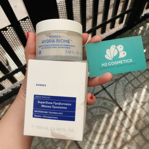 Mặt nạ cân bằng da Korres Hydra Biome Probiotic Superdose Face Mask With Real Greek Yoghurt