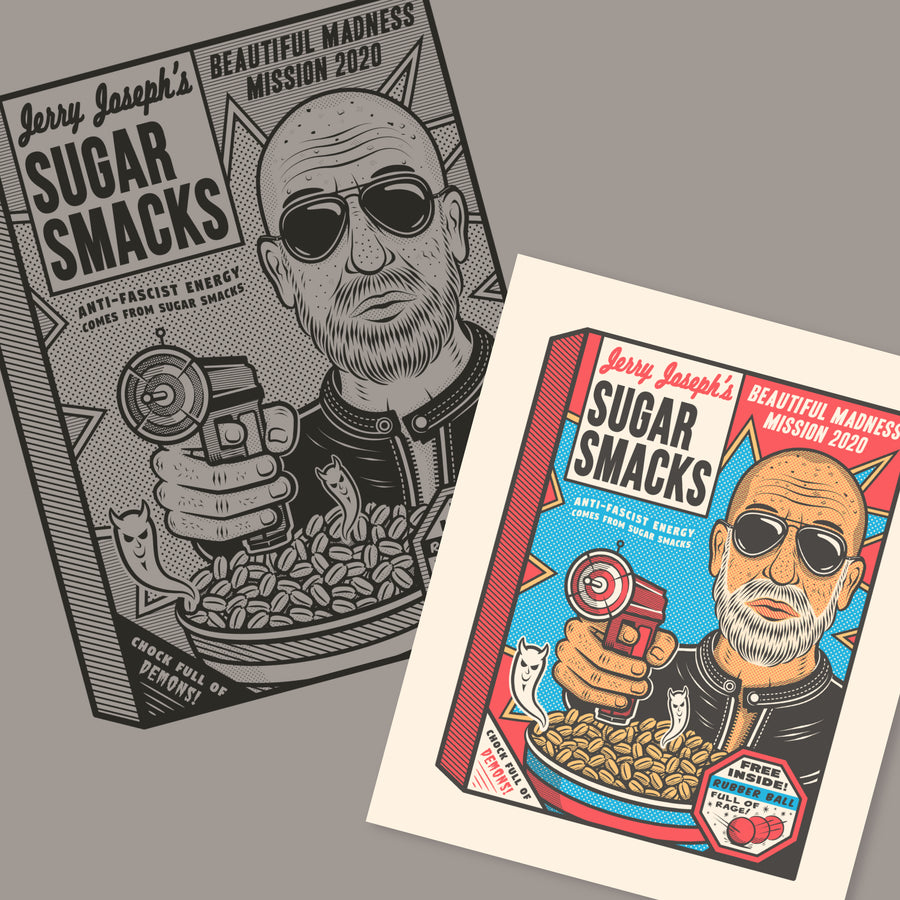 Sugar Smacks Poster & T-Shirt Bundle