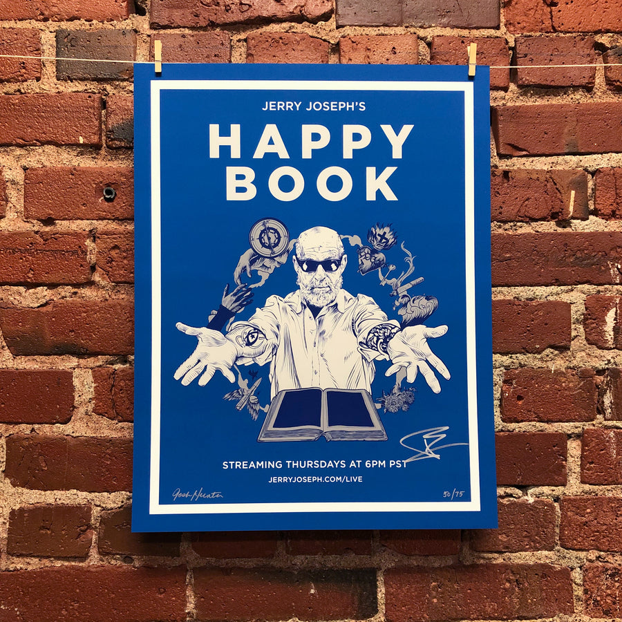 Happy Book Poster