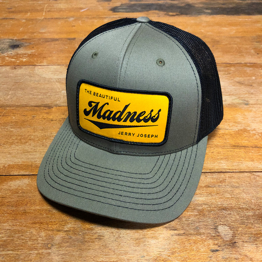 The Beautiful Madness Trucker Hat – Loden