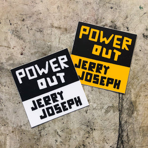 Power Out Sticker