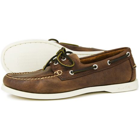 Orca Bay Maine Men's Deck Shoes Russet
