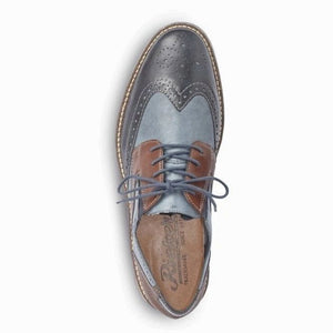 Rieker Mens Blue Combination
