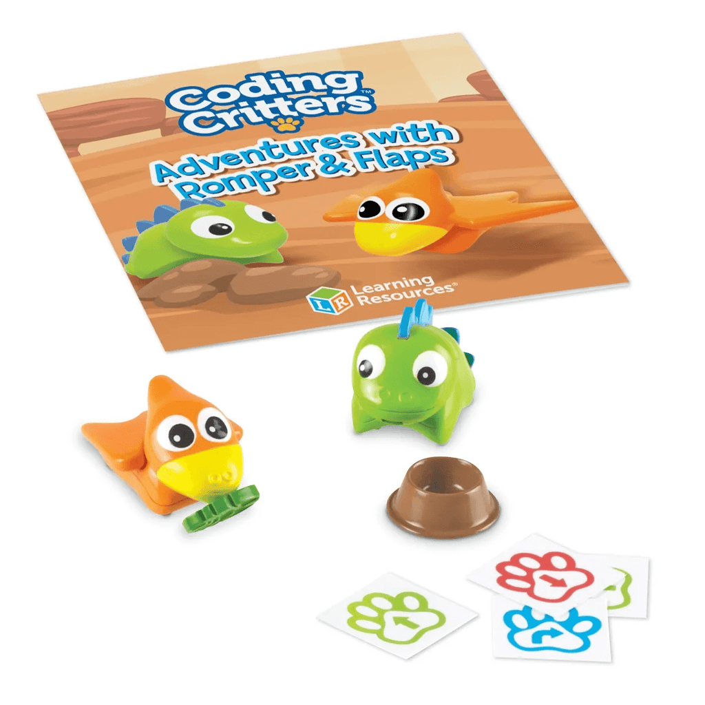 Coding Critters Pair-A-Pets Adventures with Romper & Flaps