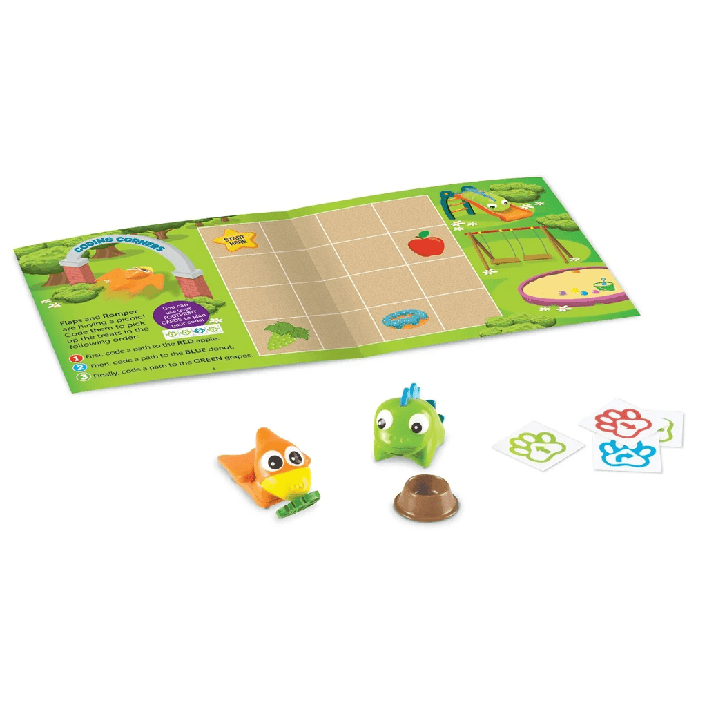 Coding Critters Pair Romper & Flaps