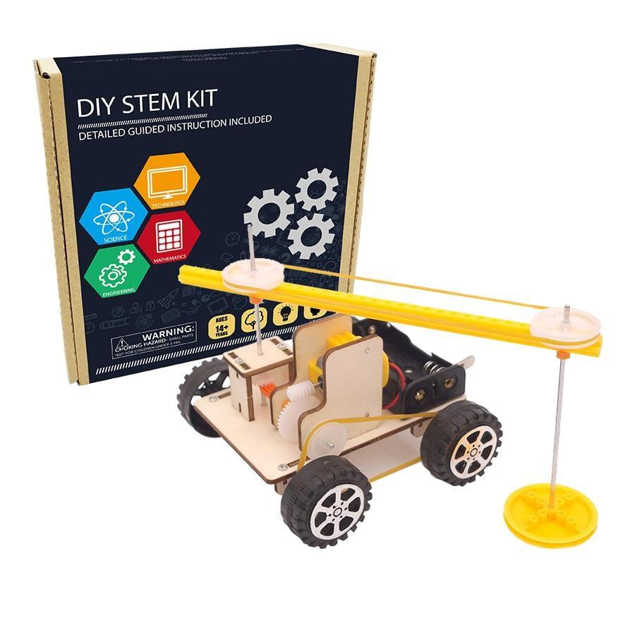 STEM Sweeping Robot