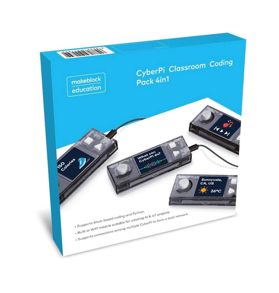 CyberPi Classroom Coding Pack (4-in-1)