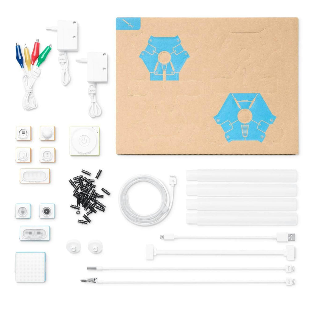 Makeblock Neuron Explorer Kit parts