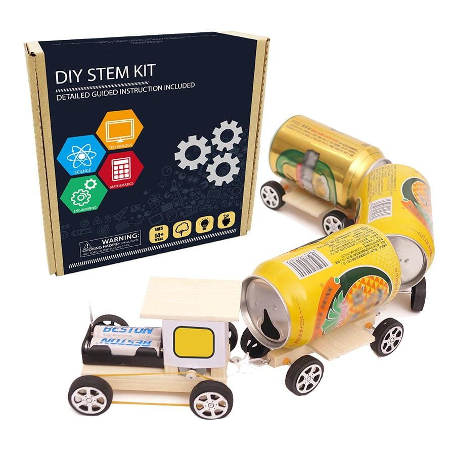 DIY STEM kits train