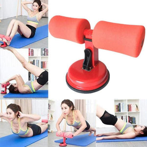 Sit Ups Muscle Training Abdominal Core Fitness Equipment Adjustable Strength Home Gym Self-Suction Situps Assist Bar Stand