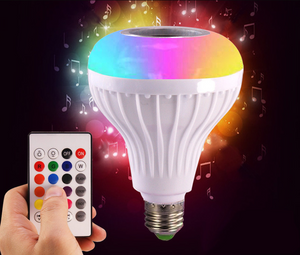 MUZIC BULB (Led Light & Wireless Speaker in 1)