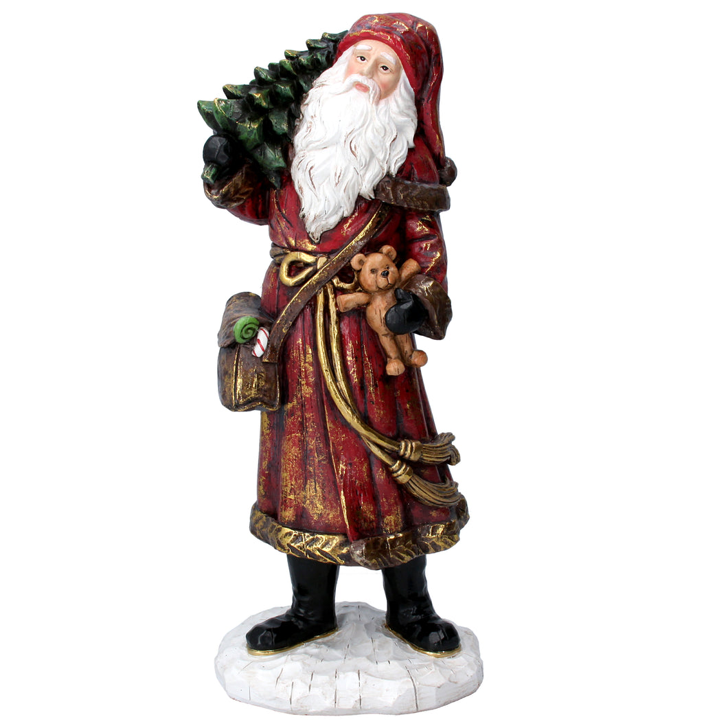Vintage Style Father Christmas Ornament