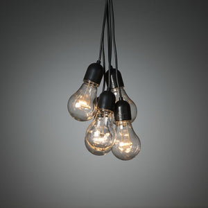 Konstsmide 20 Clear Bulb Drop Festoon Lights