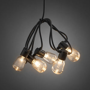 Konstsmide 40 Clear Oval Bulb Festoon Lights