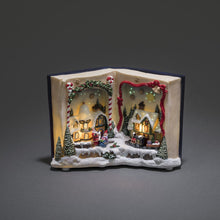 Load image into Gallery viewer, Christmas Book Festive Display Musical LED Ornament