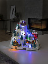 Load image into Gallery viewer, Konstsmide Christmas Ski Mountain Lit Village