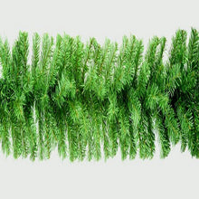 Load image into Gallery viewer, Christmas Green Garland 9ft