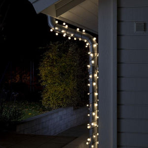 80 Warm White Berry Lights