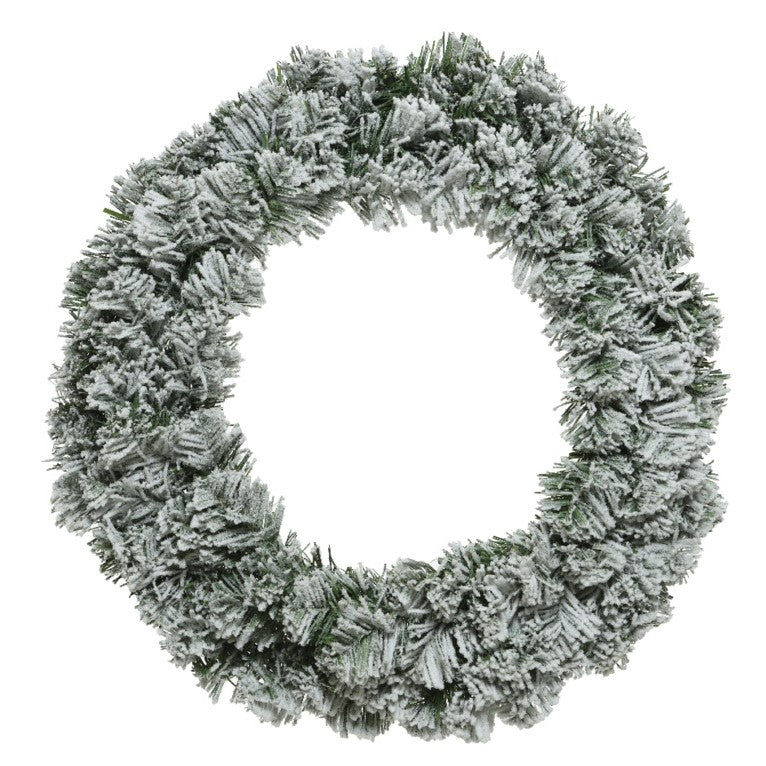 Christmas 60cm Snowy Imperial Wreath