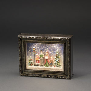 Konstsmide Christmas Choir Scene Water Lantern Picture Frame