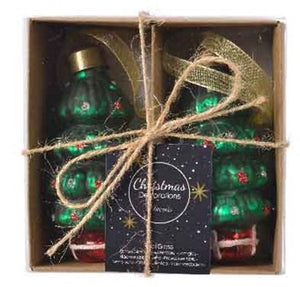 Set of 2 Christmas Tree Baubles