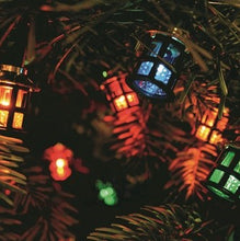 Load image into Gallery viewer, Noma 40 Victorian Multi Coloured Lantern Fairy Lights