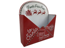 Load image into Gallery viewer, Christmas List Letter To Santa Post Box Envelope Wall Mount Mail