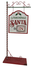 Load image into Gallery viewer, Large 1.2M North Pole Santa Sign