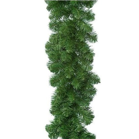 Christmas Imperial Pine Garland Green