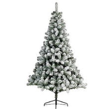 Load image into Gallery viewer, Kaemingk Snowy Imperial Pine Christmas Tree 6ft/180cm