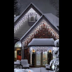 Snowtime 700 Multi-Function Ice White Icicle Lights