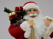 Load image into Gallery viewer, Standing Santa with List 40cm
