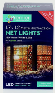 Premier 1.7m x 1.2m Warm White Net Lights