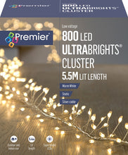 Load image into Gallery viewer, Premier 800 Warm White LED Ultrabright Cluster Lights