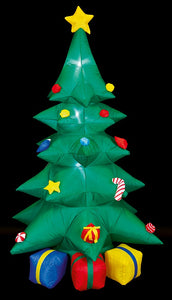 Premier 8ft/240cm Inflatable Christmas Tree with Presents