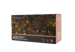 Festive 400 Firefly Lights Warm White