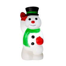 Load image into Gallery viewer, Snowman Christmas Blow Mould Retro Decoration
