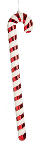 Festive Red and White Glitter 91cm Candy Cane