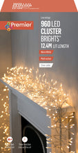 Load image into Gallery viewer, Premier 960 Cluster Brights LED Lights Warm White