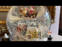 Load and play video in Gallery viewer, Animated Christmas Snow Globe