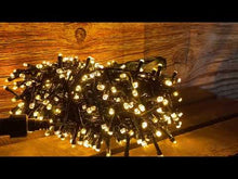 Load and play video in Gallery viewer, Festive 400 Firefly Lights Warm White