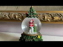 Load and play video in Gallery viewer, Musical Christmas Tree Snow Globe