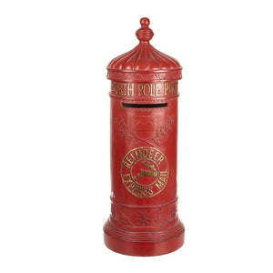 Christmas Post Box Large Decoration